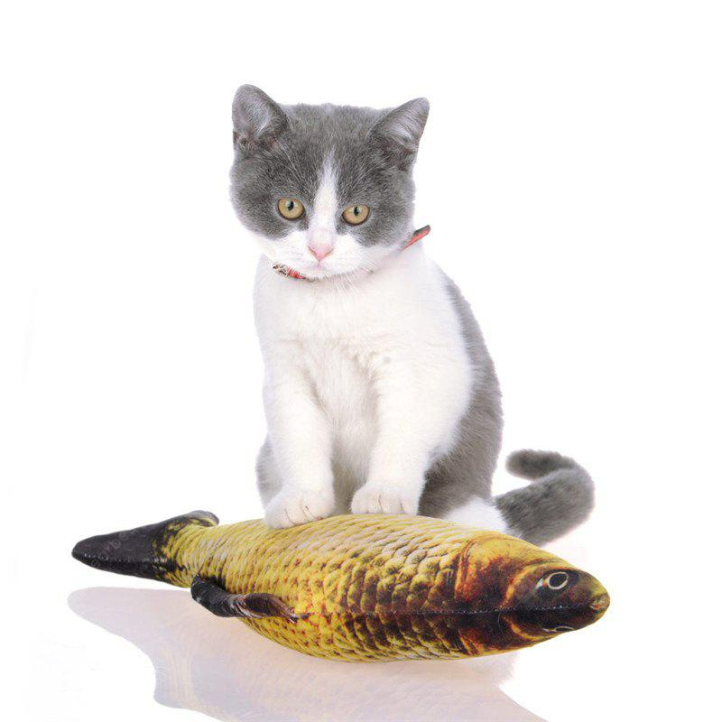 Funny Simulation Fish Type Cat Teaser Toys
