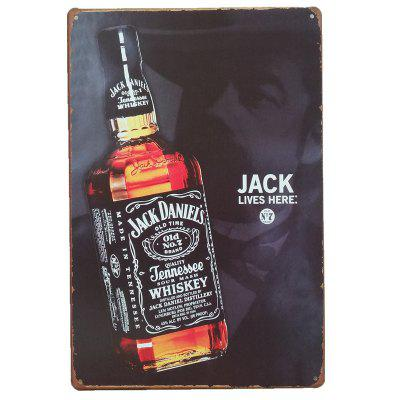 Buy COLORMIX Whiskey Vintage Style Metal Painting for Cafe Bar Restaurant Home Wall Decor for $6.32 in GearBest store