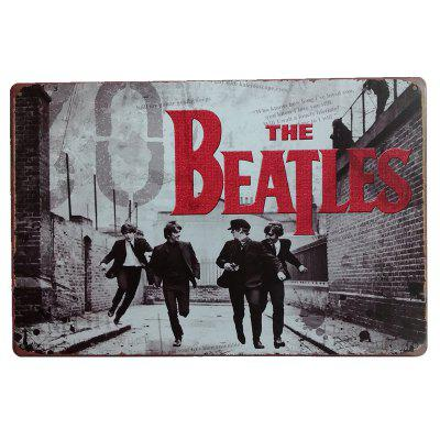 The Beatles Vintage Style Metal Painting para Cafe Bar Restaurant Wall Decor