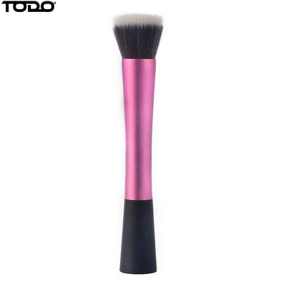TODO Beauty Contour Foundation Makeup Synthetic Hair Flat Top Cosmetics Stippling BrushMakeup Brushes &amp; Tools<br>TODO Beauty Contour Foundation Makeup Synthetic Hair Flat Top Cosmetics Stippling Brush<br><br>Brand: TODO<br>Brush Material: Fiber Hair, Nylon<br>Category: Blush Brush,Contour Brush<br>For: Face<br>Handle Material: ABS, Aluminum<br>Package Contents: 1 x Blush Brush<br>Package Size(L x W x H): 19.50 x 4.50 x 2.70 cm / 7.68 x 1.77 x 1.06 inches<br>Package weight: 0.0400 kg<br>Product Size  ( L x W x H ): 18.00 x 3.00 x 2.20 cm / 7.09 x 1.18 x 0.87 inches<br>Product weight: 0.0300 kg<br>Quantity range (pcs): 1-5<br>Type: Single brush