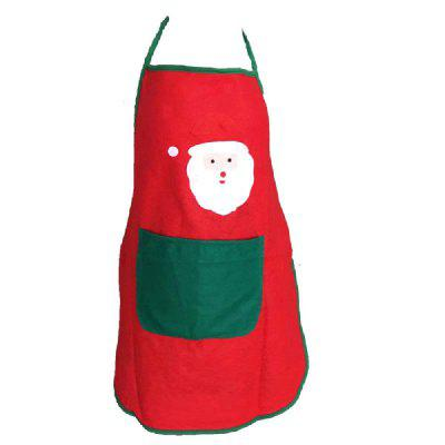 YEDUO Nonwoven Santa Claus Apron Free Size for Birthday / Christmas DayChristmas Supplies<br>YEDUO Nonwoven Santa Claus Apron Free Size for Birthday / Christmas Day<br><br>Brand: YEDUO<br>Package Contents: 1 x Apron<br>Package size (L x W x H): 25.00 x 18.00 x 2.00 cm / 9.84 x 7.09 x 0.79 inches<br>Package weight: 0.0800 kg<br>Product size (L x W x H): 70.00 x 50.00 x 1.00 cm / 27.56 x 19.69 x 0.39 inches<br>Product weight: 0.0750 kg<br>Usage: Christmas