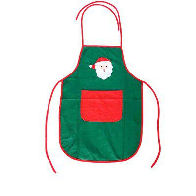 YEDUO Nonwoven Santa Claus Apron Free Size for Birthday / Christmas Day