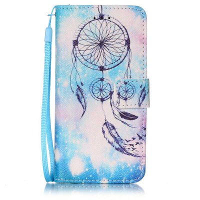 Buy WINDSOR BLUE Painted PU Phone Case for iPhone 6 Plus / 6S Plus for $4.78 in GearBest store