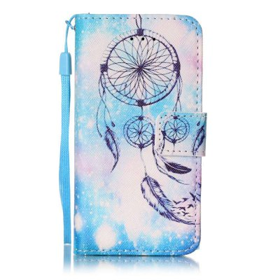 Buy The New Painted PU Phone Case for iPhone 5 / 5S / SE WINDSOR BLUE for $6.02 in GearBest store