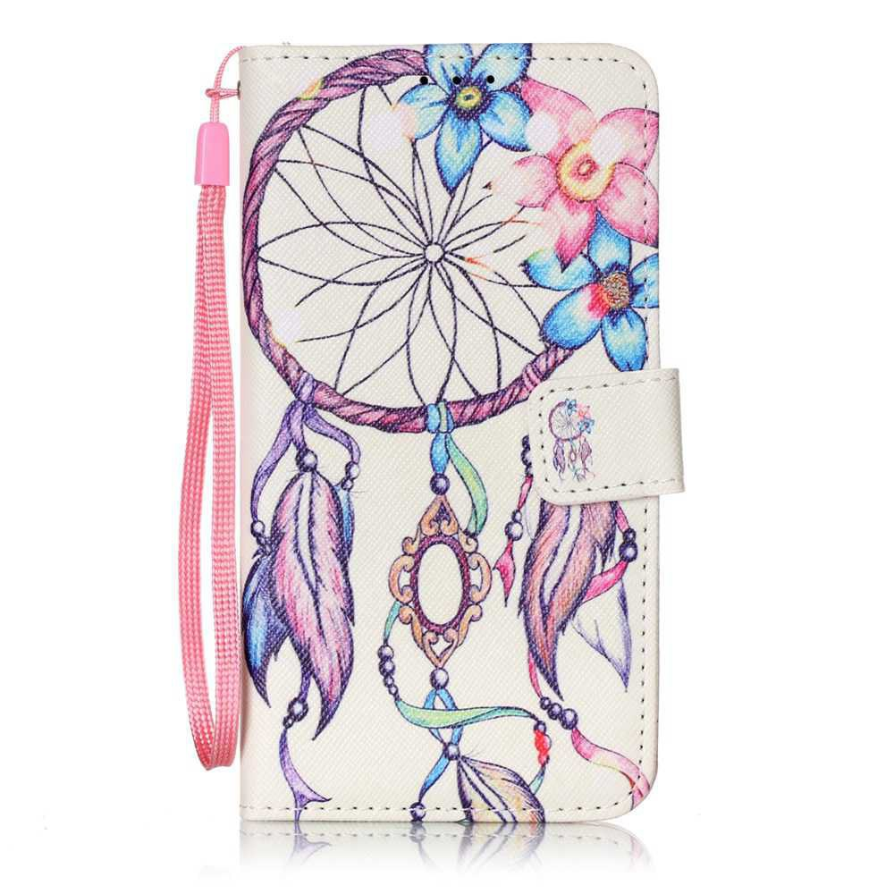 The New Painted PU Phone Case for Samsung Galaxy  J3 2015 / 2016