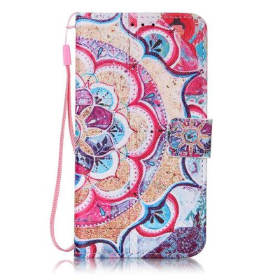 Buy The New Painted PU Phone Case for Samsung Galaxy S5 COLORMIX for $6.32 in GearBest store