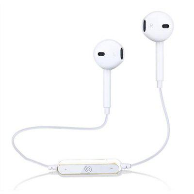 S6 Bluetooth Headphones Dynamic Sport Fitness Earphone with Microphone with Volume Control