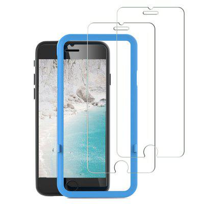 JENYOJIA 2 Pack Screen Protector Tempered Glass 3D Touch Compatível Anti-Scratch Anti-Fingerprint 2.5D Edge 9H Hardness para IPhone 6 Plus / 6S Plus