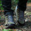 Fashion Sports Outdoor Shoes Anti Skid Wear Resistant Breathable Hiking Boots - GRAY