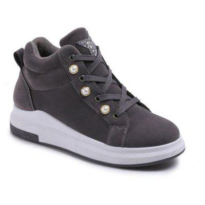 Korean Version of The Wild High Street Robes Casual Shoes