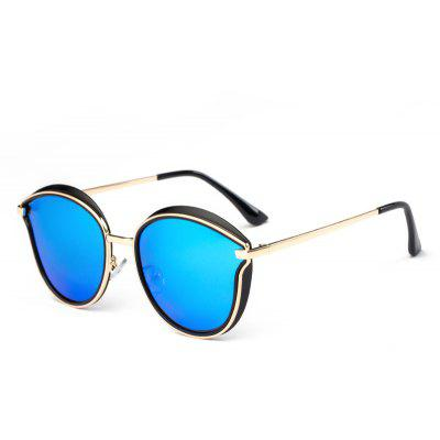 Buy ICE BLUE TOMYE 6066 HD Polarized Sunglasses TR Metal Polaroid Lenses for $22.95 in GearBest store