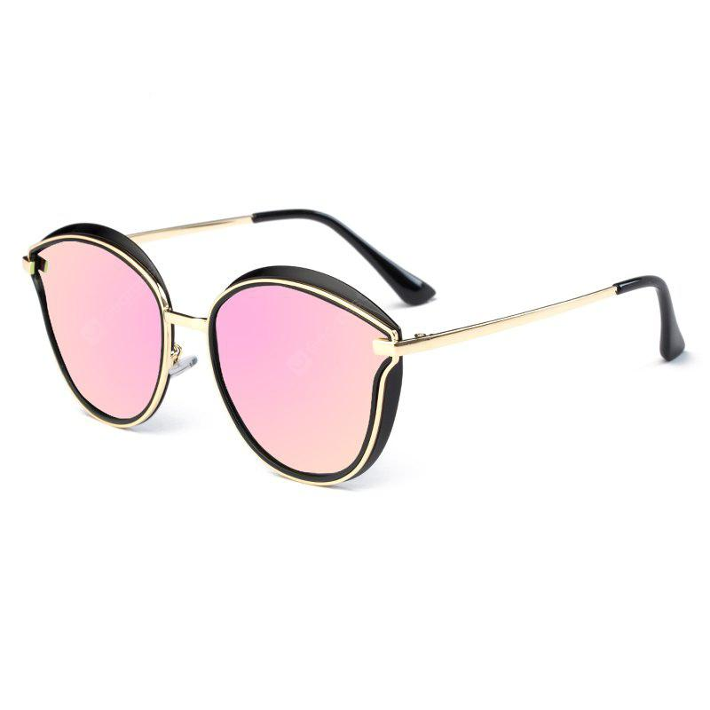 PINK TOMYE 6066 HD Polarized Sunglasses TR Metal Polaroid Lenses