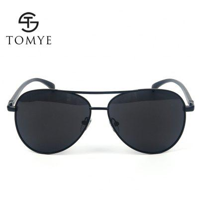 TOMYE 2150 Aviator Polarized Sunglasses for ManMens Sunglasses<br>TOMYE 2150 Aviator Polarized Sunglasses for Man<br><br>Brand: TOMYE<br>Frame Length: 140mm<br>Frame material: Alloy<br>Gender: For Men<br>Group: Adult<br>Lens height: 50mm<br>Lens material: Resin<br>Lens width: 63mm<br>Lenses Optical Attribute: Polarized<br>Nose: 13mm<br>Package Contents: 1 x Sunglass, 1 x Glasses Case, 1 x Glasses Cloth<br>Package size (L x W x H): 16.00 x 6.00 x 6.00 cm / 6.3 x 2.36 x 2.36 inches<br>Package weight: 0.0700 kg<br>Product weight: 0.0230 kg<br>Style: Pilot<br>Temple Length: 131mm