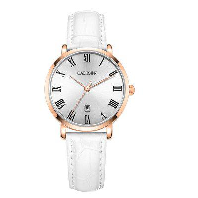 Cadisen C2006 Women Fashion contratto ultrasottile al quarzo Watch