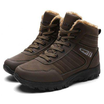 "High Vamp Outdoor Warm BootsMens Boots<br>High Vamp Outdoor Warm Boots<br><br>Boot Height: Ankle<br>Boot Type: Snow Boots<br>Closure Type: Lace-Up<br>Embellishment: None<br>Gender: For Men<br>Heel Hight: Low(0.75""-1.5"")<br>Heel Type: Flat Heel<br>Insole Material: Rubber<br>Lining Material: Plush<br>Outsole Material: Rubber<br>Package Contents: 1?Shoes(pair)<br>Pattern Type: Others<br>Season: Winter<br>Shoe Width: Medium(B/M)<br>Toe Shape: Round Toe<br>Upper Material: PU<br>Weight: 1.0200kg"