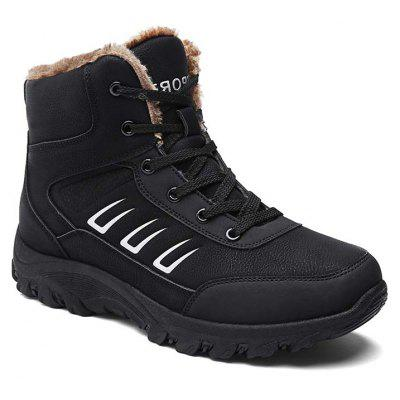 Men High Vamp Outdoor Warm Boots