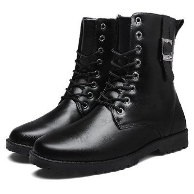 "High Vamp Warm Martin BootsMens Boots<br>High Vamp Warm Martin Boots<br><br>Boot Height: Ankle<br>Boot Type: Riding/Equestrian<br>Closure Type: Lace-Up<br>Embellishment: None<br>Gender: For Men<br>Heel Hight: Low(0.75""-1.5"")<br>Heel Type: Flat Heel<br>Insole Material: Rubber<br>Lining Material: Plush<br>Outsole Material: Rubber<br>Package Contents: 1?Shoes(pair)<br>Pattern Type: Others<br>Season: Winter<br>Shoe Width: Medium(B/M)<br>Toe Shape: Round Toe<br>Upper Material: PU<br>Weight: 1.0200kg"