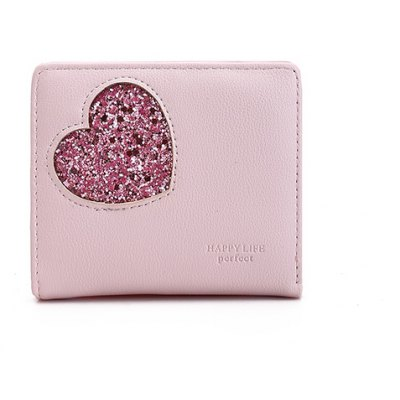 Blocking Small Compact PU Leather Pocket Wallet for Women