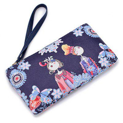 Fashion Casual Printing Wallets for Women