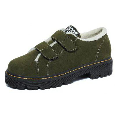 FY-005-1 Round Head Velcro Letter and Cashmere ShoesWomens Casual Shoes<br>FY-005-1 Round Head Velcro Letter and Cashmere Shoes<br><br>Available Size: 35?36?37?38?39<br>Closure Type: Hook / Loop<br>Embellishment: None<br>Gender: For Women<br>Outsole Material: Rubber<br>Package Contents: 1xShoes?pair?<br>Pattern Type: Solid<br>Season: Winter, Spring/Fall<br>Toe Shape: Round Toe<br>Toe Style: Closed Toe<br>Upper Material: Flock<br>Weight: 0.9360kg