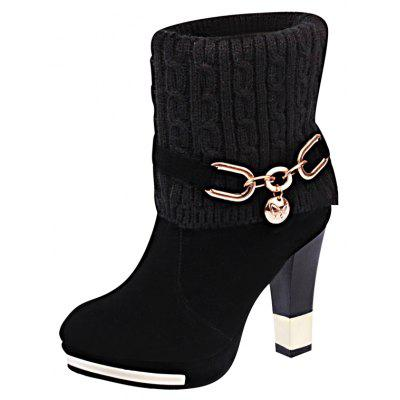 HSL-W-98 Round Sets Foot Mouth Wool Frosted All-match Thick Heeled Fashion Female Martin BootsWomens Boots<br>HSL-W-98 Round Sets Foot Mouth Wool Frosted All-match Thick Heeled Fashion Female Martin Boots<br><br>Boot Height: Ankle<br>Boot Type: Fashion Boots<br>Closure Type: Slip-On<br>Gender: For Women<br>Heel Type: Chunky Heel<br>Package Contents: 1xShoes?pair?<br>Pattern Type: Solid<br>Season: Winter<br>Toe Shape: Round Toe<br>Upper Material: Flock<br>Weight: 1.0400kg