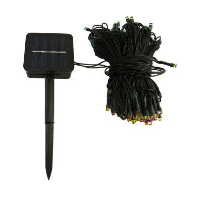 200LEDs 2W Solar Powered Colorful RGB Light String