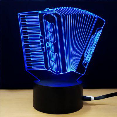M.Sparkling TD295 Creative Music 3D LED Lamp