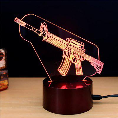 M.Sparkling TD149 Creative Weapons 3D LED Lamp