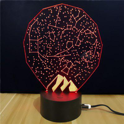 M.Sparkling TD012 Creative Starry Sky 3D LED Lamp