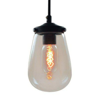 Buy BLACK weisheman P1003 Pendant Lights Clear Glass for $75.99 in GearBest store