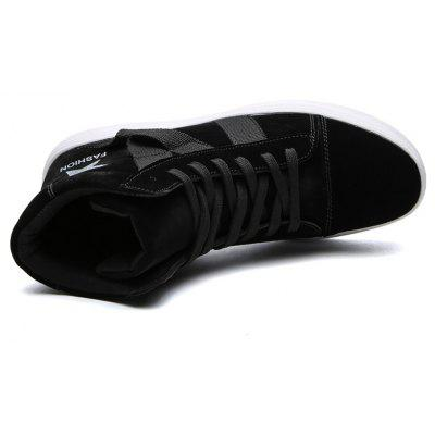 High Top Boots Men Running Lace Up Sport Outdoor Travel Hiking Walking Shoes 39-44Men's Sneakers<br>High Top Boots Men Running Lace Up Sport Outdoor Travel Hiking Walking Shoes 39-44<br><br>Available Size: 39-44<br>Closure Type: Lace-Up<br>Embellishment: None<br>Gender: For Men<br>Outsole Material: Rubber<br>Package Contents: 1?Shoes(pair)<br>Pattern Type: Star<br>Season: Summer, Winter, Spring/Fall<br>Toe Shape: Round Toe<br>Toe Style: Closed Toe<br>Upper Material: PU<br>Weight: 1.2000kg