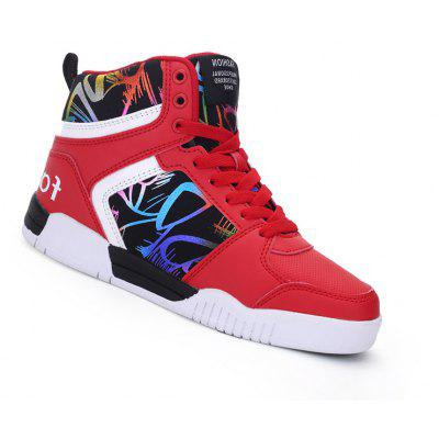 Couple Classic Style Youth Fashion Running High Top Sports Basketball Shoes Outdoor Sneakers