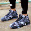 Basketball Classic Style Running Youth Fashion Outdoor Sports Colorful Shoes Sneakers - BLACK