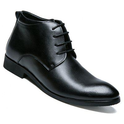 Male Business Inside Heighten Leather Shoes