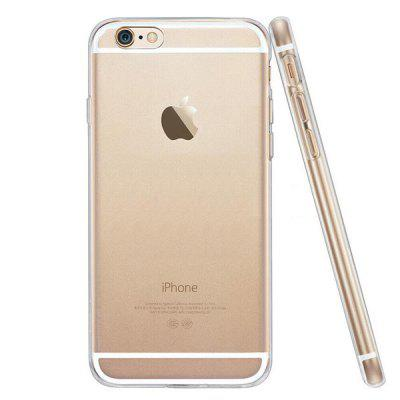Ultra Thin TPU Soft Transparent Clear Crystal Case for iPhone 6 / 6s floral crystal clear print hard case for