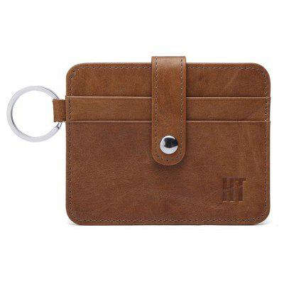 Hautton Minimalist Genuine Leather Slim Business Credit Id Card CaseCoin Purses&amp;Holders<br>Hautton Minimalist Genuine Leather Slim Business Credit Id Card Case<br><br>Closure Type: Open<br>Embellishment: Vintage<br>Gender: For Men<br>Hardness: Soft<br>Height: 8 cm<br>Main Material: Genuine Leather<br>Package Contents: 1 x wallet<br>Package size (L x W x H): 12.00 x 0.40 x 9.00 cm / 4.72 x 0.16 x 3.54 inches<br>Package weight: 0.0200 kg<br>Pattern Type: Solid<br>Product weight: 0.0200 kg<br>Style: Vintage<br>Wallets Type: Card Wallets