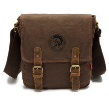 AUGUR 2017 Fashion Men Shoulder Bag Vintage Canvas Bags Travel Satchel Bag Male High Quality Small Crossbody Bags