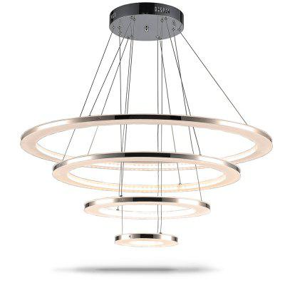 Buy WARM WHITE Luxury Acrylic Pendant Light Indoor Decorative Modern Hanging Lamp 76W for $399.20 in GearBest store