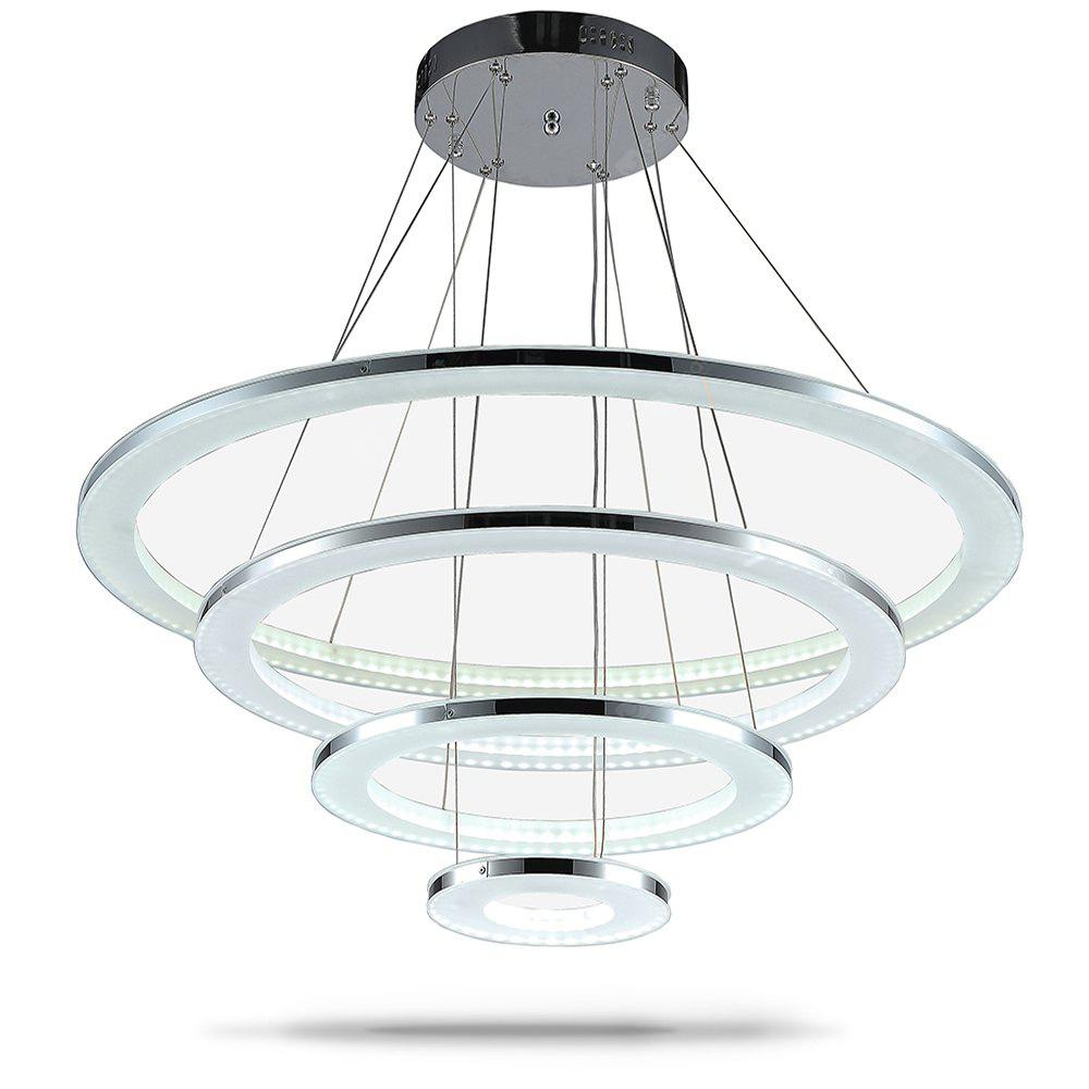 COOL WHITE Luxury Acrylic Pendant Light Indoor Decorative Modern Hanging Lamp 76W