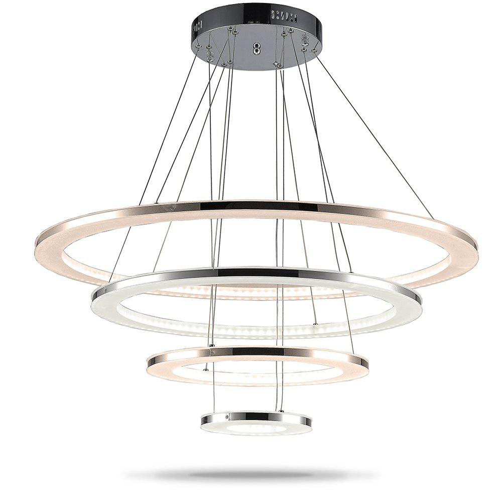 Modern acrylic led pendant light indoor decorative lights simple modern acrylic led pendant light indoor decorative lights simple hanging lamp lighting fixtures mozeypictures Image collections