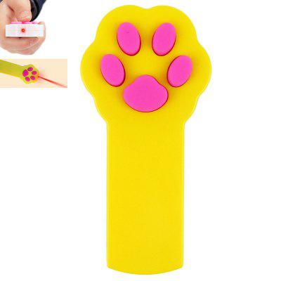 Footprint Shape Infrared Laser Cat Teaser Toys
