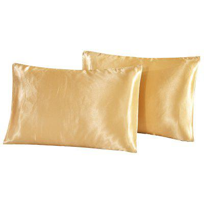 Silk Invisible Zipper Pillowcase 2PCSPillow<br>Silk Invisible Zipper Pillowcase 2PCS<br><br>Category: Pillow Case<br>For: All<br>Material: Mulberry Silk<br>Occasion: Bedroom<br>Package Contents: 2 x Pillowcase<br>Package size (L x W x H): 20.00 x 15.00 x 2.00 cm / 7.87 x 5.91 x 0.79 inches<br>Package weight: 0.2100 kg<br>Product weight: 0.1800 kg