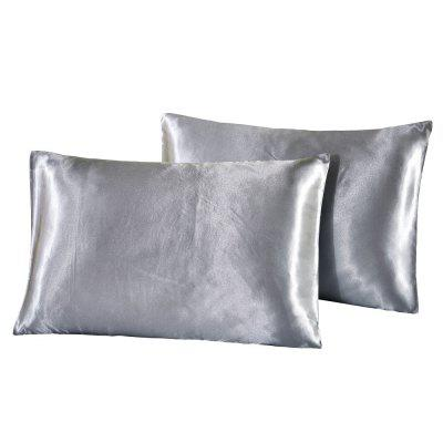 Silk Invisible Zipper Pillowcase 2PCSPillow<br>Silk Invisible Zipper Pillowcase 2PCS<br><br>Category: Pillow Case<br>For: All<br>Material: Mulberry Silk<br>Occasion: Bedroom<br>Package Contents: 2 x Pillowcase<br>Package size (L x W x H): 20.00 x 15.00 x 2.00 cm / 7.87 x 5.91 x 0.79 inches<br>Package weight: 0.2000 kg<br>Product weight: 0.1800 kg