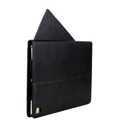 Rotate The Card Lanyard Pu Leather Cover for IPad 2017