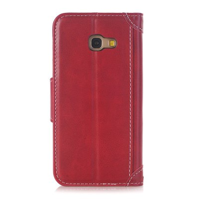 Stitching Colours Card Lanyard Pu Leather Cover for Samsung Galaxy A3 2017Samsung A Series<br>Stitching Colours Card Lanyard Pu Leather Cover for Samsung Galaxy A3 2017<br><br>Color: Black,Red,Brown,Lake blue,Rose Madder<br>Features: Full Body Cases, Cases with Stand, With Credit Card Holder<br>For: Samsung Mobile Phone<br>Material: PU Leather, TPU<br>Package Contents: 1 x Case<br>Package size (L x W x H): 14.00 x 8.00 x 2.00 cm / 5.51 x 3.15 x 0.79 inches<br>Package weight: 0.0700 kg<br>Product size (L x W x H): 13.20 x 7.30 x 1.40 cm / 5.2 x 2.87 x 0.55 inches<br>Product weight: 0.0650 kg<br>Style: Vintage/Nostalgic Euramerican Style, Novelty, Name Brand Style