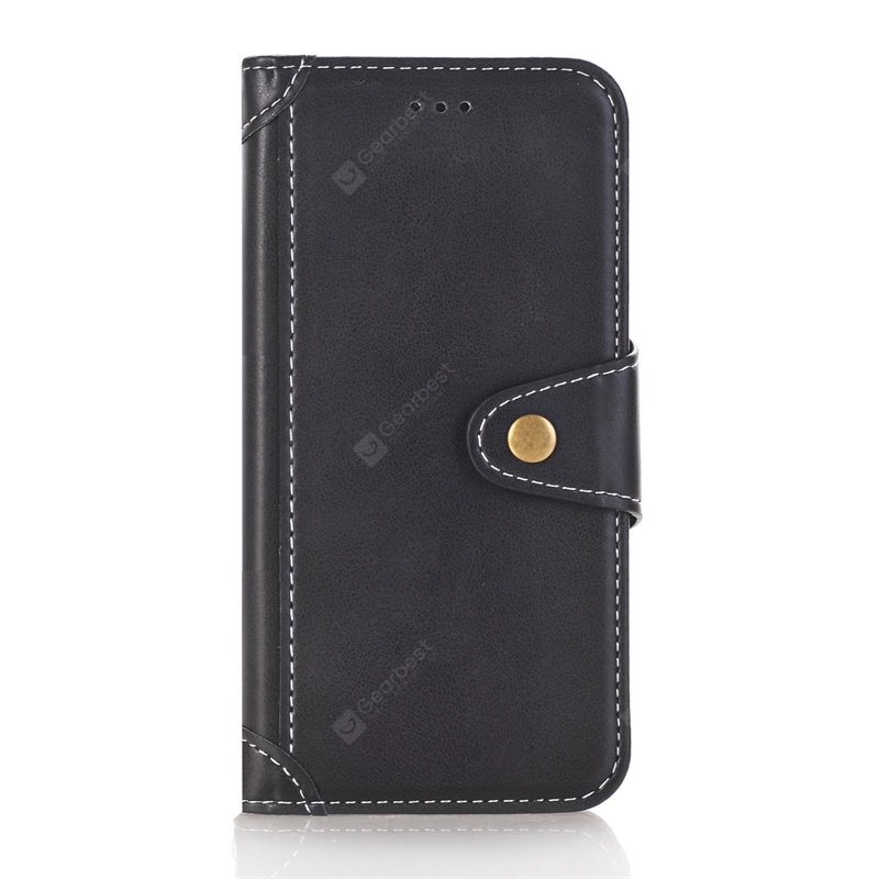 Stitching Colours Card Lanyard Pu Leather Cover for HUAWEI P8 LITE 2017