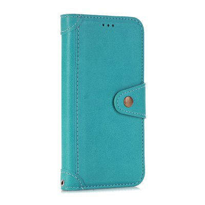 Buy OASIS Stitching Colours Card Lanyard Pu Leather Cover for iPhone 6 for $5.24 in GearBest store