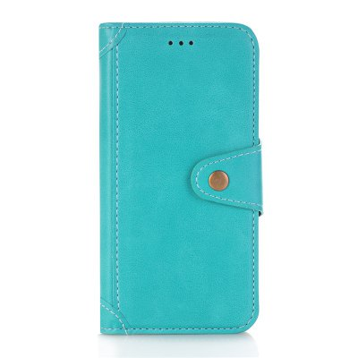 Buy OASIS Stitching Colours Card Lanyard Pu Leather Cover for iPhone 8 for $5.24 in GearBest store
