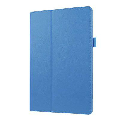 Buy BLUE HD10 PU Leather Case Cover 10.1 Inch Fold Slim Protective Stand Skin for Amazon Kindle for $18.00 in GearBest store