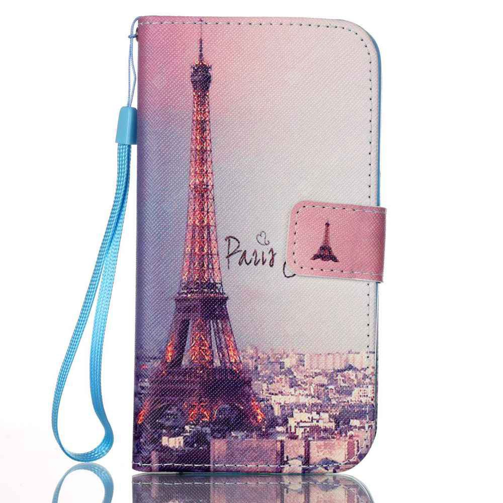 BROWN New Painted PU Phone Case for Samsung Galaxy S7